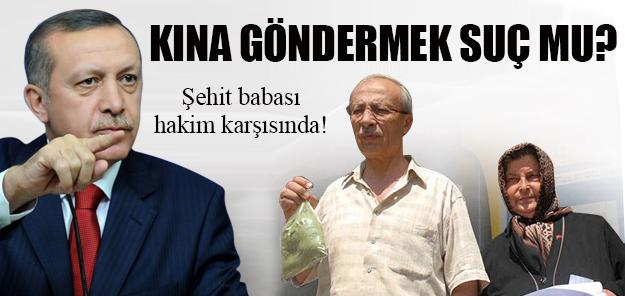 ŞEHİT BABASI HAKİM KARŞISINDA !