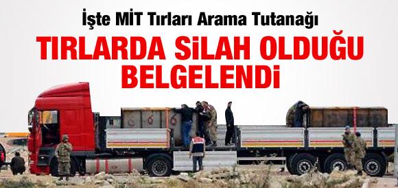 Erdoğan inkar etti, belgesi çıktı: TIR'lar roket yüklü !