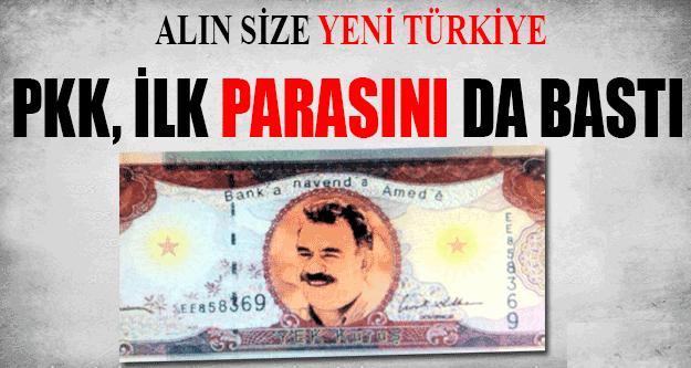 PKK Para Bastı, Üzerinde de Bebek Katilinin Fotoğrafı Var !