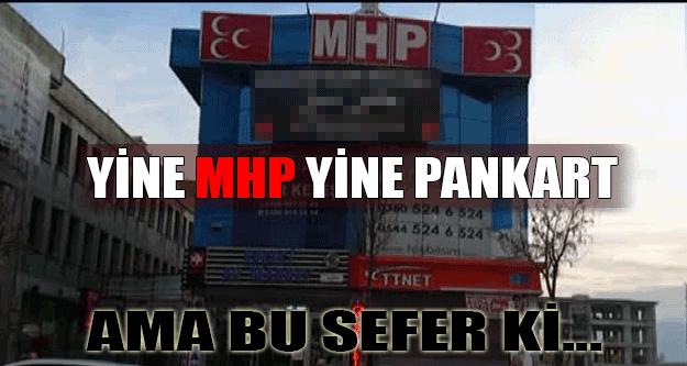 MHP Düzce'den Erdoğan'a Pankartlı Tepki !