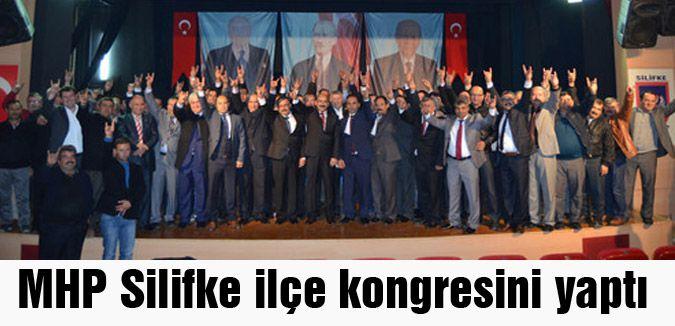 MHP Silifke ilçe kongresi