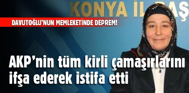 AKP'de Usulsuzluk İstifası, Konya'dan İstifa Sesleri !