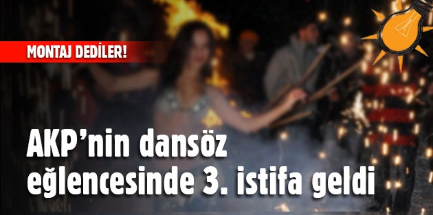 AKP montaj dedi, 3 istifa geldi !