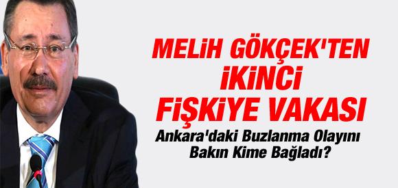 MELİH GÖKÇEK'TEN 'BUZLANMA' AÇIKLAMASI !