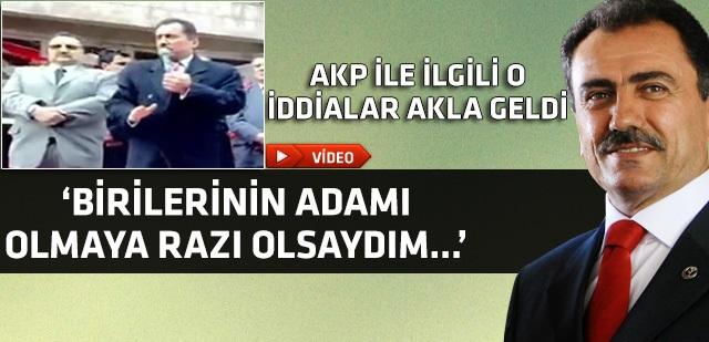 Muhsin Yazıcıoğlu: İsteseydim Başbakan olurdum !