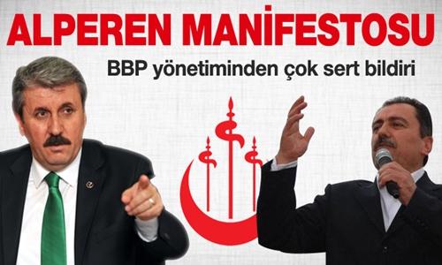 BBP'den Alperen manifestosu !