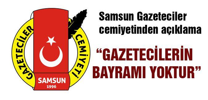 """""""GAZETECİLERİN BAYRAMI YOKTUR"""""""
