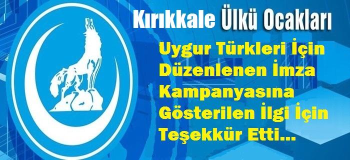 Kırıkkale Ülkü Ocaklarından Teşekkür Açıklaması