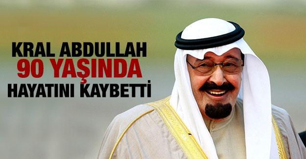 Suudi Arabistan Kralı Abdullah vefat etti !