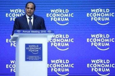 Sisi Davos'tan Dünyaya Barış Mesajı