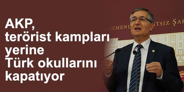 Özcan Yeniçeri: AKP, terörist kampları yerine Türk okullarını kapatıyor