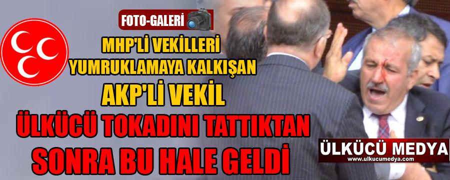 Meclis'te AKP'li ve MHP'li milletvekilleri arasında kavga !