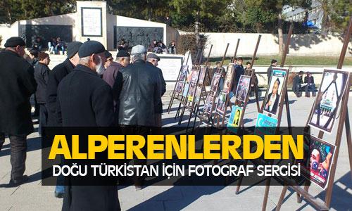Alperenlerden Doğu Türkistan Sergisi !