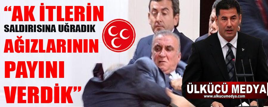 AKP'li vekiller MHP'lilere saldırmaya kalkıştı, ağızlarının paylarını aldılar !
