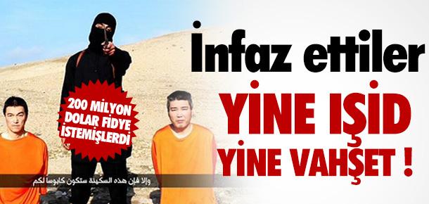 IŞİD JAPON REHİNEYİ İNFAZ ETTİ !