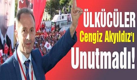 Ülkücüler Cengiz Akyıldız'ı Unutmadı!