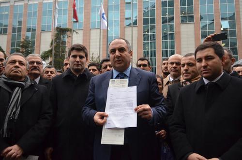 MHP'lilerden BEDAŞ protestosu