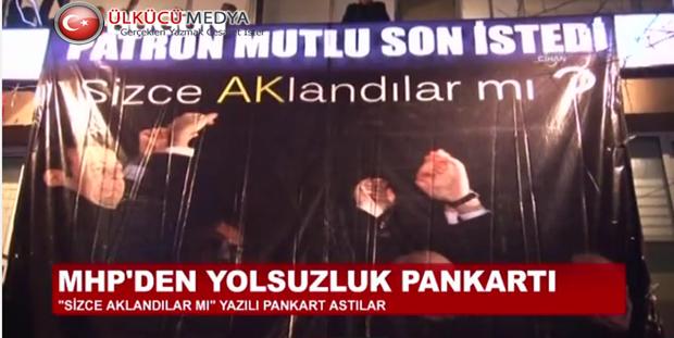 Bir Pankart'ta MHP Beşiktaş !