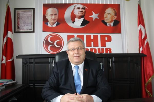 MHP BURDUR'DA İLK ADAY ADAYI HİKMET ÖKTE