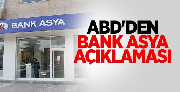 ABD'den Bank Asya Açıklaması !