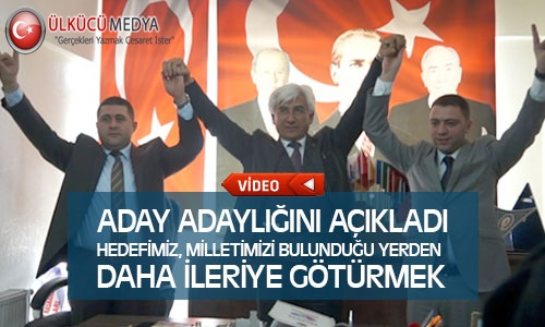 Yusuf Mertoğlu MHP'den Yozgat Milletvekili Aday Adayı Olduğunu Açıkladı !