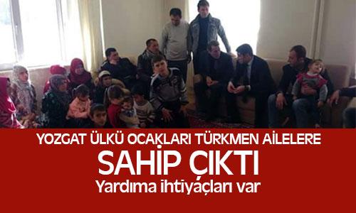Türkmen Ailelere Yozgat Ülkü Ocakları Sahip Çıktı !