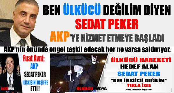 Sedat Peker AKP'ye Hizmete Başladı !
