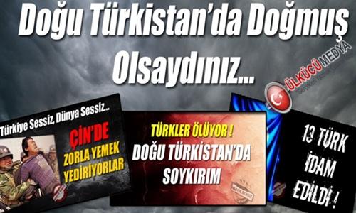 Doğu Türkistan'da Doğmuş Olsaydınız !