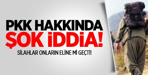 PKK HAKKINDA ŞOK İDDİA !