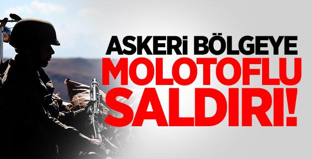 Silopi'de Askeri Bölgeye Molotoflu Saldırı