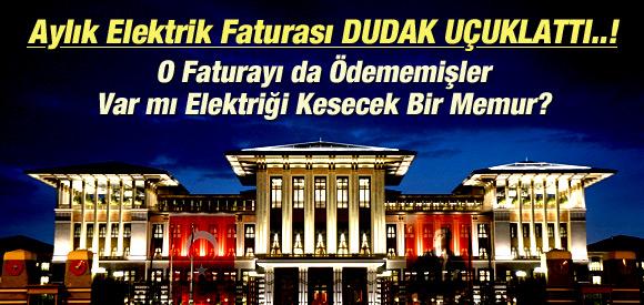 AK SARAY'A 1 MİLYON TL'LİK ELEKTRİK FATURASI !