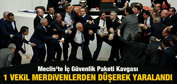 MECLİS'TE İÇ GÜVENLİK PAKETİ KAVGASI !