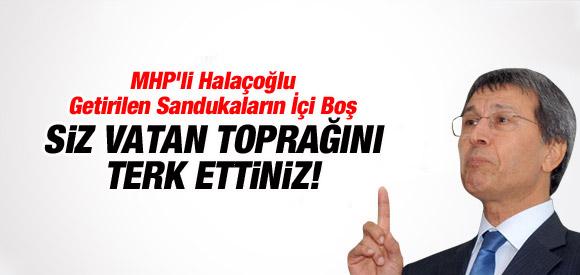 MHP'li Yusuf Halaçoğlu: Yenilgiden başka bir şey değil!