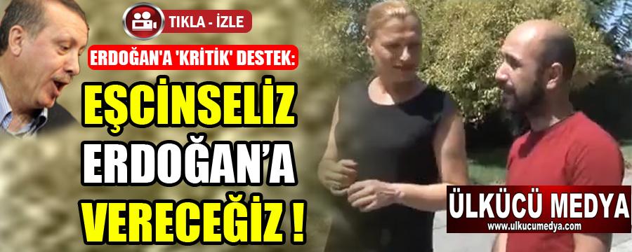"""""""GAY""""LAR TERCİHİNİ YAPTI: MUHAFAZAKAR EŞCİNSELİZ, ERDOĞAN'A VERECEĞİZ !"""