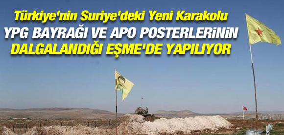TÜRBE YPG BAYRAKLARININ DA DALGALANDIĞI EŞME'DE YAPILIYOR!