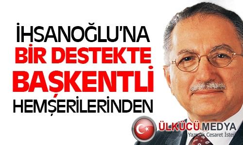 Yozgat Dernek ve Federasyonları İhsanoğlu'na Destek Verecek !