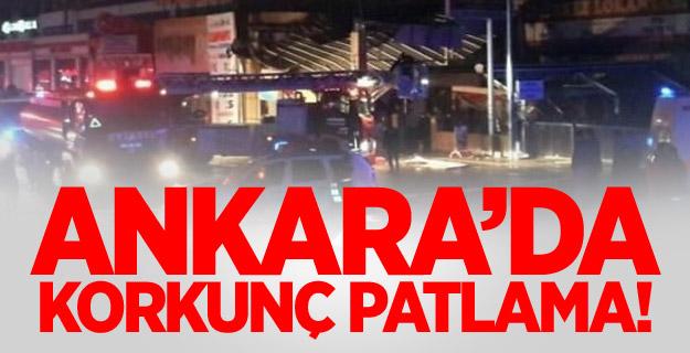 Ankara OSTİM'de patlama!