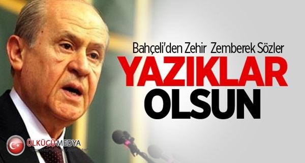 Bahçeli'den Çok Sert Süleyman Şah Tepkisi !