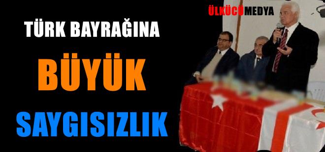 Türk Bayrağı'na Büyük Saygısızlık !