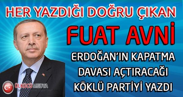 Fuat Avni Erdoğan'ın Büyük Planını Açıkladı !