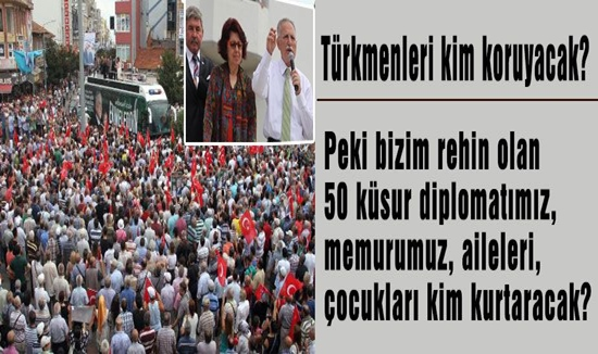"""İhsanoğlu: """"Türkmenler i kim koruyacak?"""