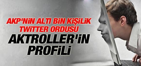 AKP'NİN 6 BİN KİŞİLİK TWİTTER EKİBİ DEŞİFRE OLDU !
