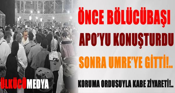 Erdoğan, Suudi Arabistan'da Umre yaptı !