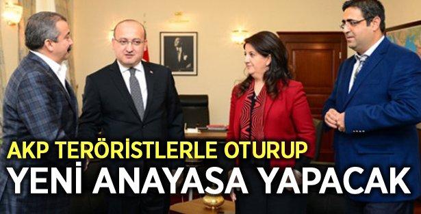 """AKP ile PKK oturup yeni bir anayasa yapacaklar!"""""""