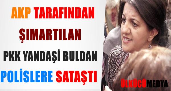 HDP'Lİ BULDAN, ÖCALAN POSTERİ İÇİN POLİSLE TARTIŞTI