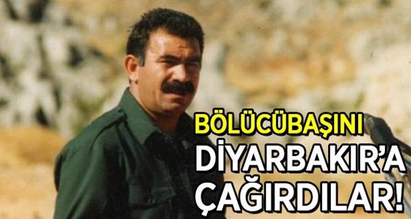 Bölücübaşını Diyarbakır'a çağırdılar !