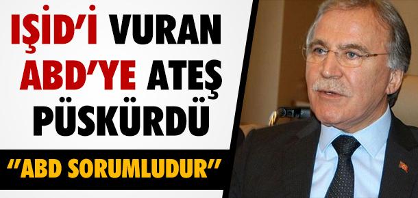 AKP'Lİ VEKİL IŞİD VURULMASINA TEPKİ GÖSTERDİ !