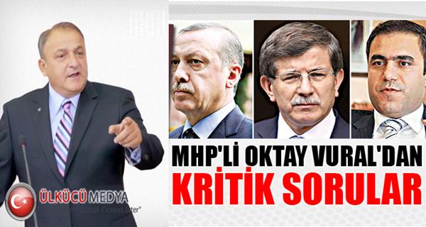 MHP'li Oktay Vural'dan Hakan Fidan ve Başbakan'a sert tepki