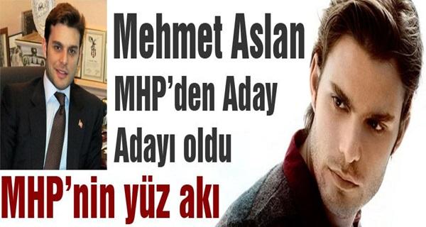 Mehmet Aslan MHP'den Aday Adayı