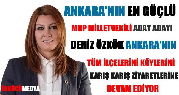 ANKARA'NIN EN GÜÇLÜ MHP ADAYI DENİZ ÖZKÖK !